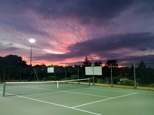 Tennis courts in Bournemouth at Winton Recreation tennis courts